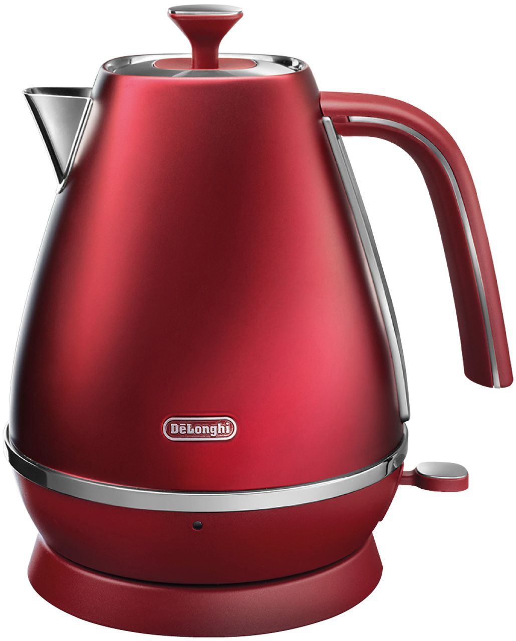 Delonghi - 1.7L Distinta Flair Kettle - Red