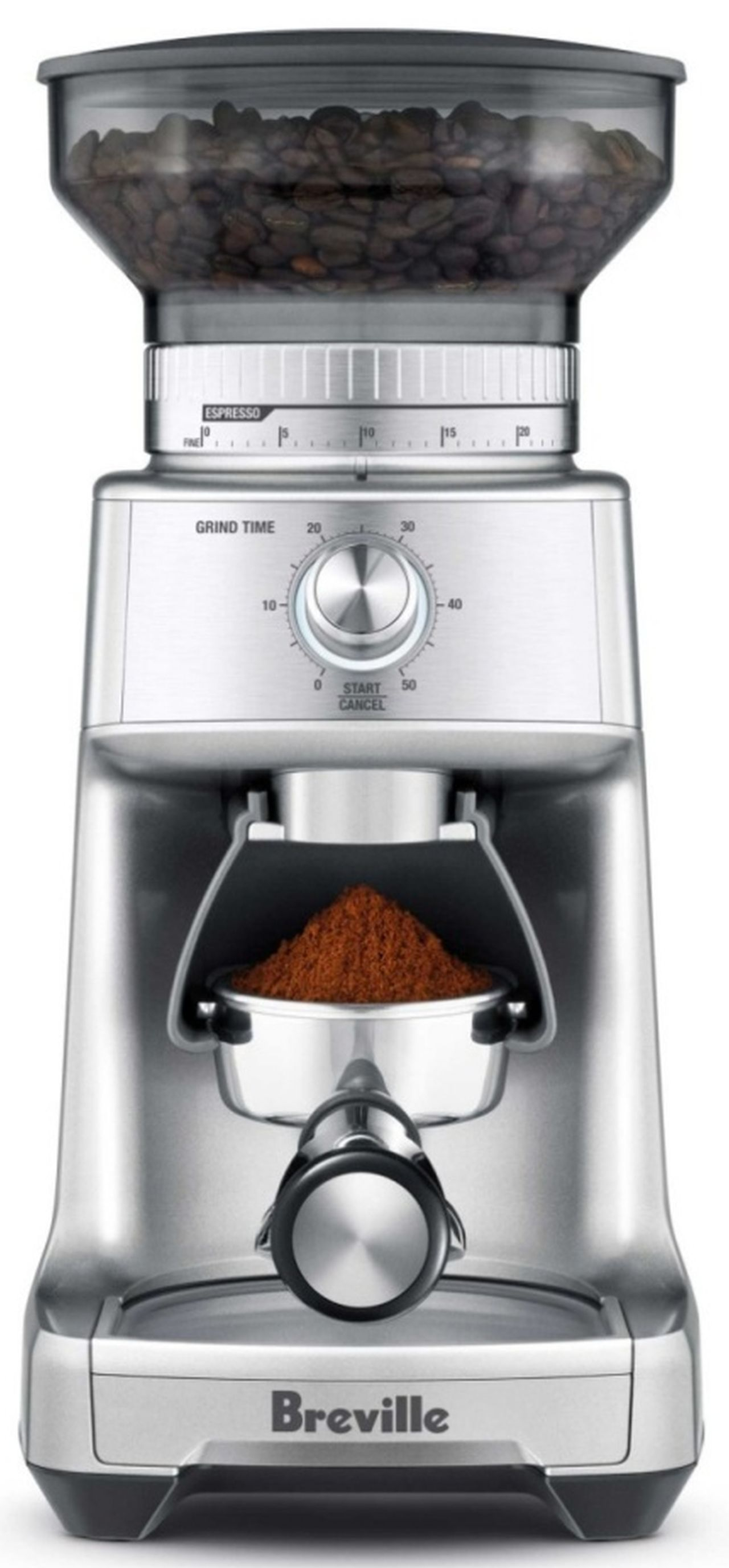 Breville - the Dose Control Pro Coffee Grinder in Silver