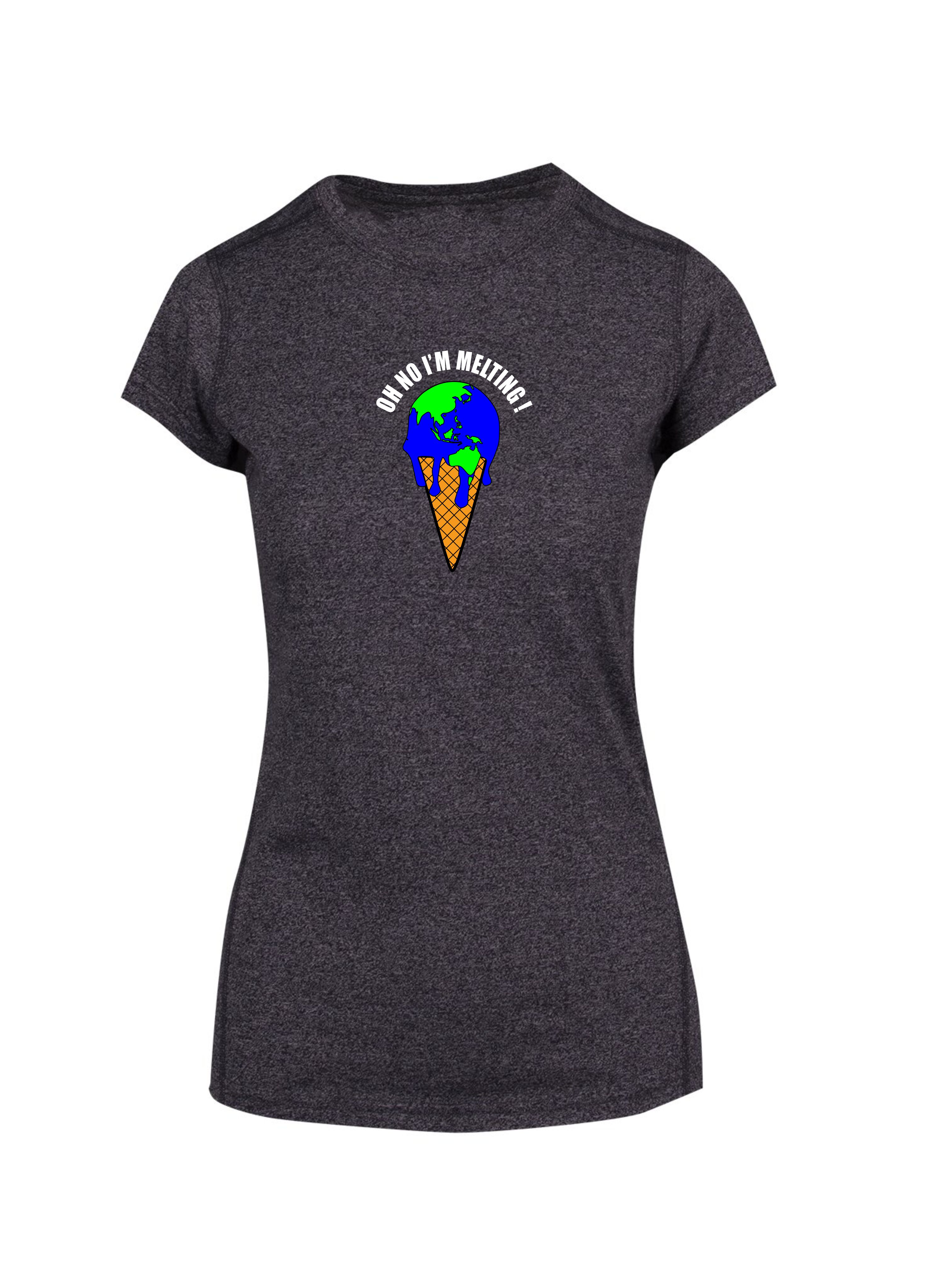 Stemm Melting Earth Tshirt - Ladies