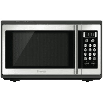 34L 1100W Stainless Steel Microwave