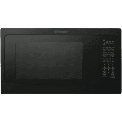 40L 1100W Black Microwave Oven