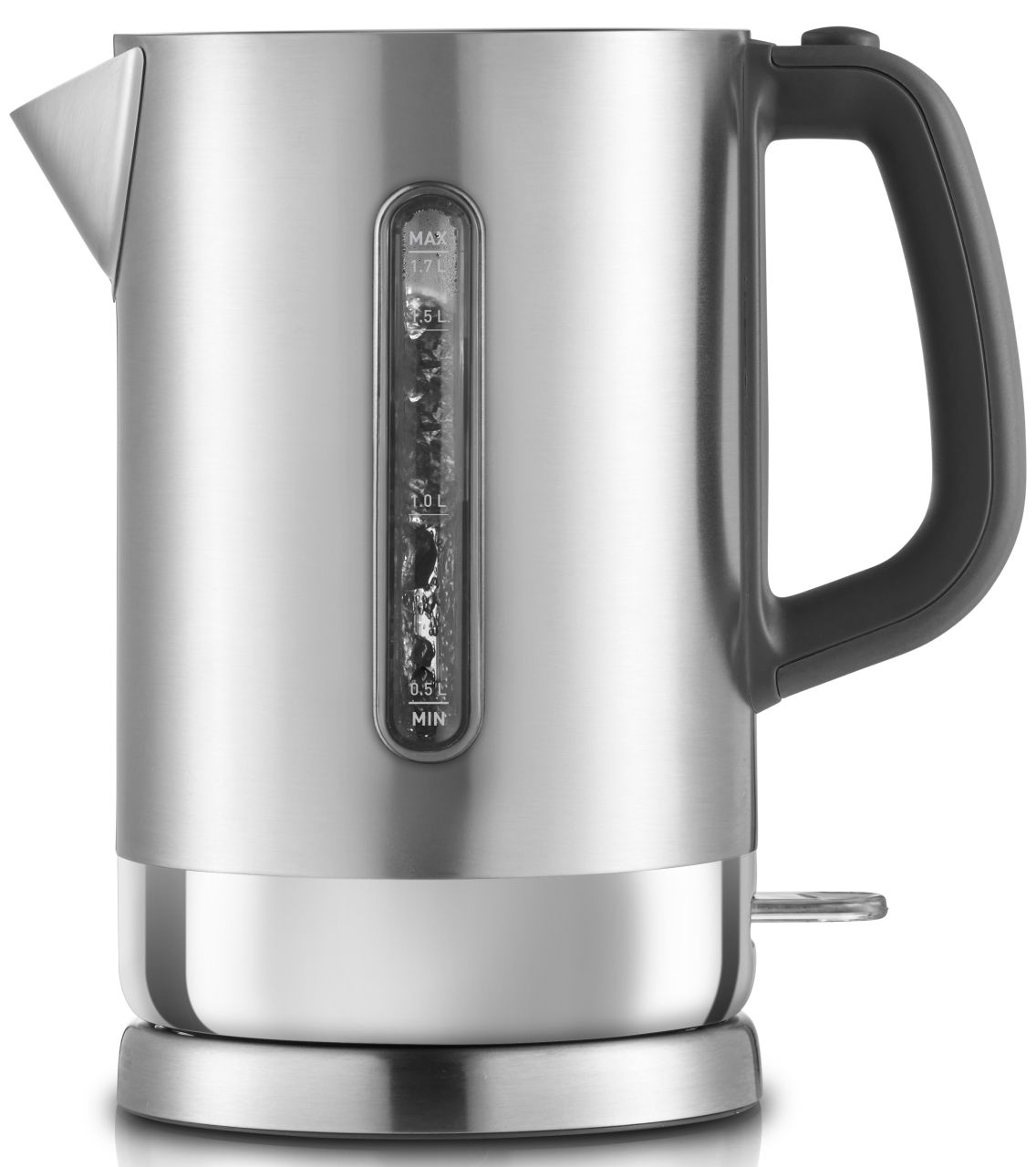 Sunbeam - 1.7L Aspire Quiet Shield Kettle - Stainless Steel