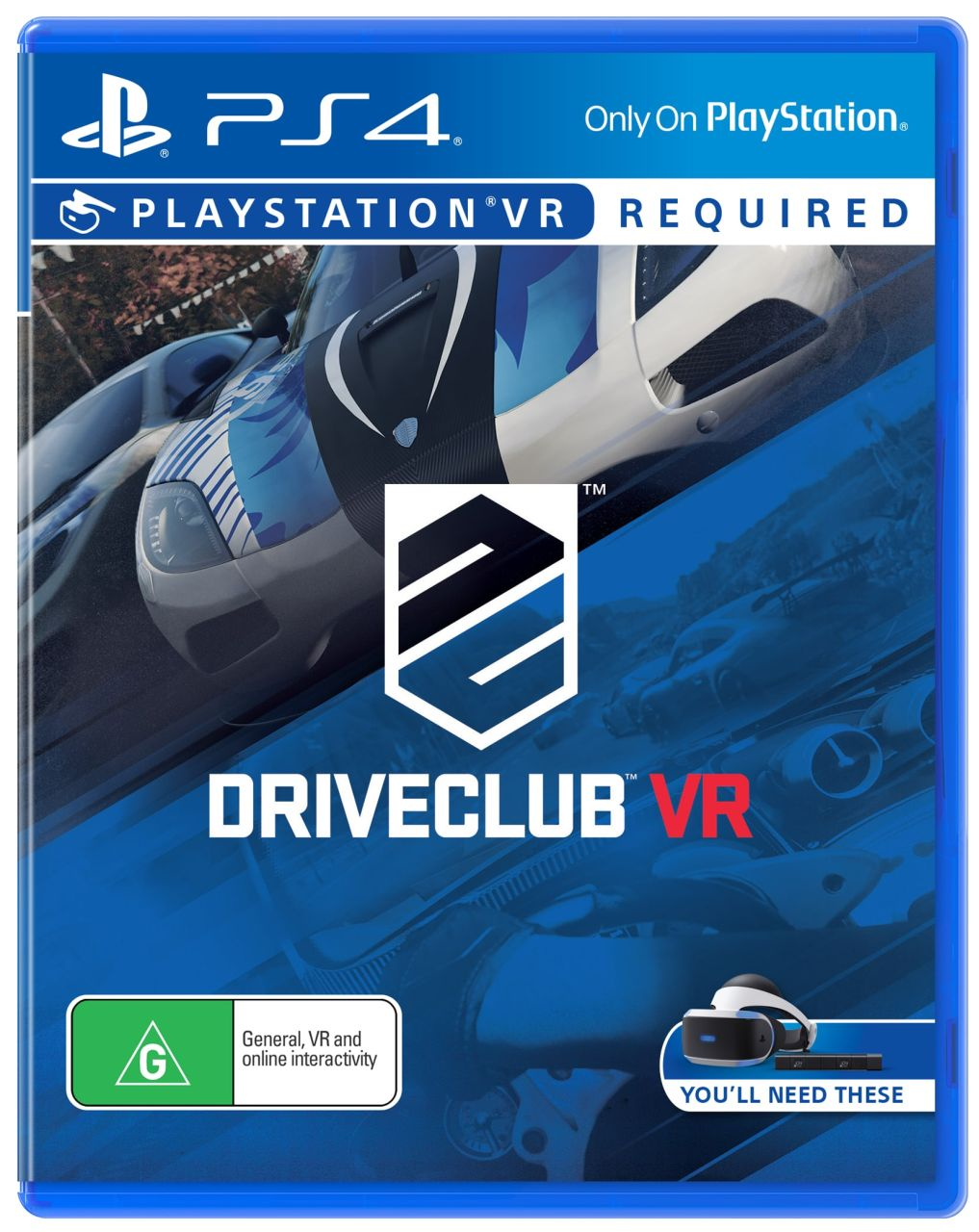 Sony - PS4 Playstation VR DriveClub Game