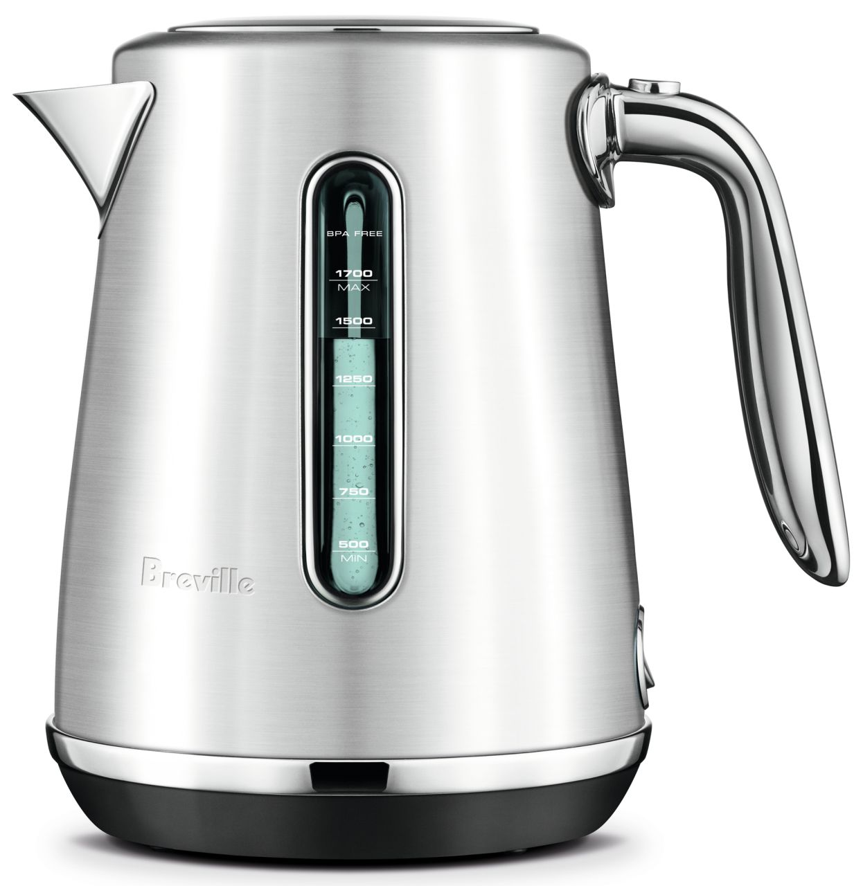 Breville - The Soft Top Luxe Kettle - Brushed Stainless Steel