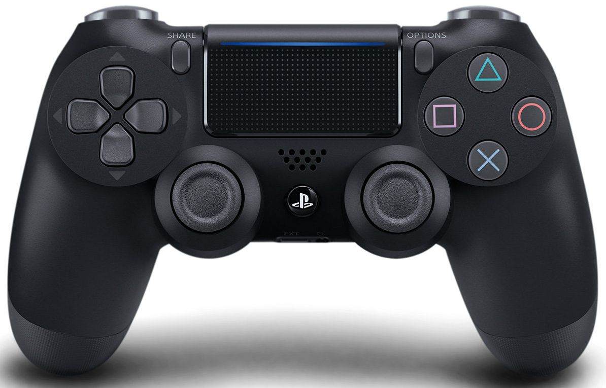 Sony - PS4 Playstation Dualshock 4 Wireless Controller - Jet Black